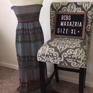 BCBG MaxAzria maxi dress sleeveless sz XL